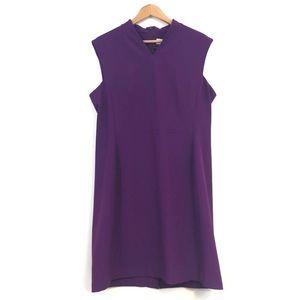 MM LAFLEUR womens size 16 purple dress sleeveless